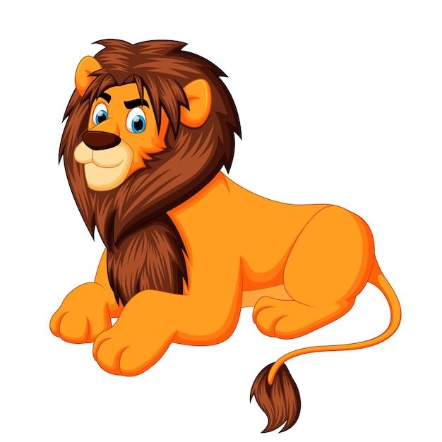 Картинки льва мультяшного