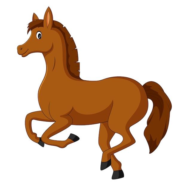 Картинки мультяшных лошадок для детей