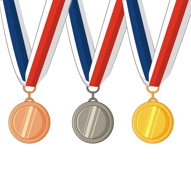видимо картинки медалей нарисованы разных колодах