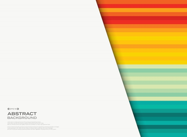 コピースペースと夏の色のパターンの抽象的な背景。 Premiumベクター