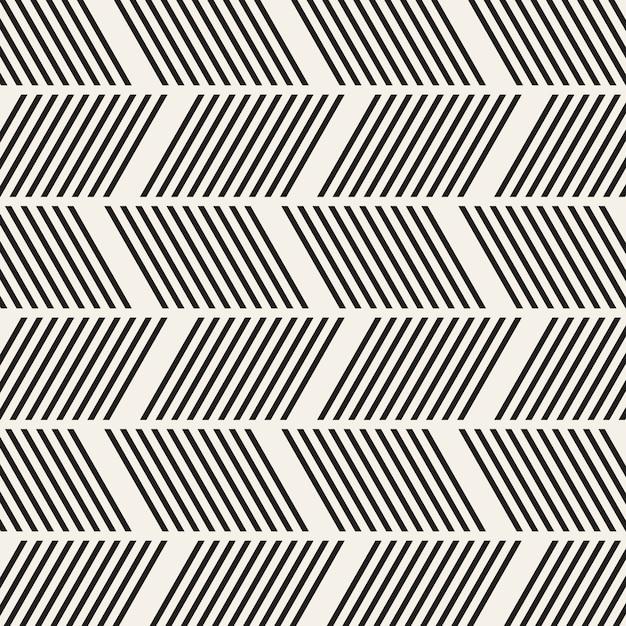 抽象的な幾何学的なシームレスパターン Premiumベクター