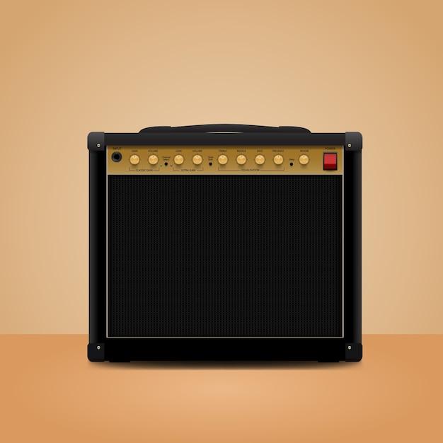 部屋のアンプ Premiumベクター