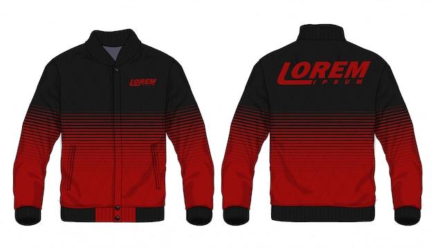 Векторная иллюстрация спортивной куртки Premium векторы