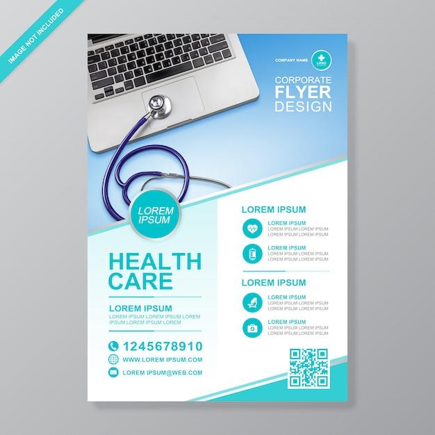 Здравоохранение и медицинское покрытие Premium векторы