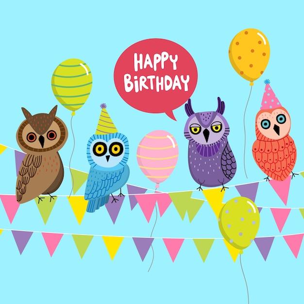 Праздником, с днем рождения олеся открытка с совой