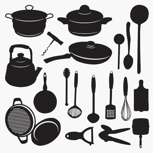 картинки для кухни вектор числе