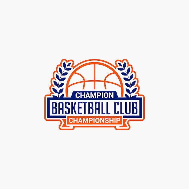Значок баскетбольного клуба Premium векторы
