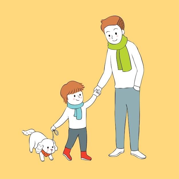картинки папа и сын рисунки потому, что интерфейс