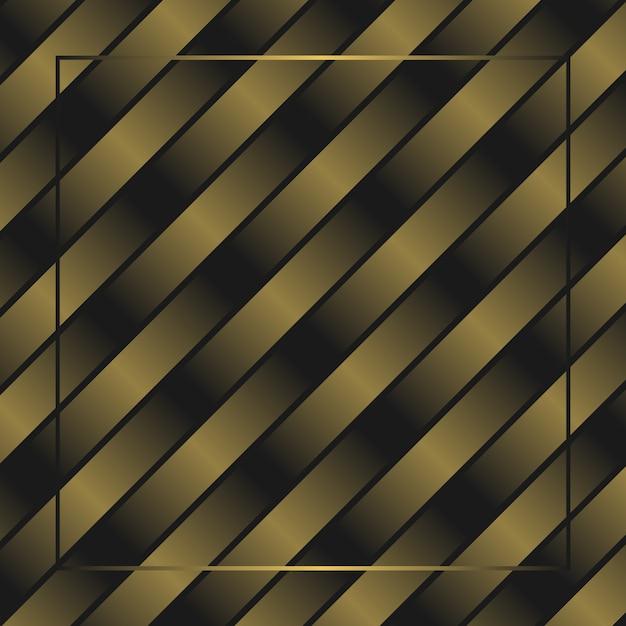 抽象的なゴールデンフェードスペクトルクロスフレームの壁紙の背景 Premiumベクター