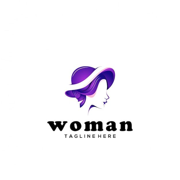 女性のロゴのテンプレート Premiumベクター