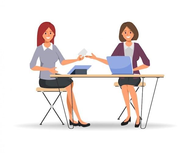 ビジネス人々の共同作業のチームワーク Premiumベクター