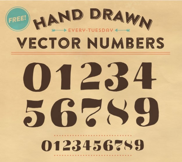 66 Free numbers fonts  FontSpace