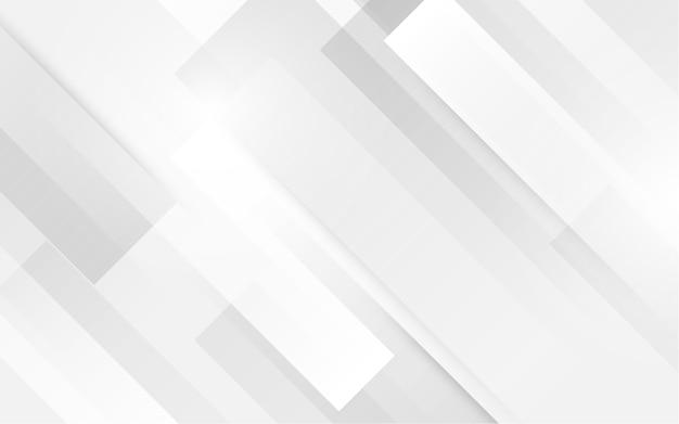 未来的なコンセプトの背景を持つ白い四角形 Premiumベクター