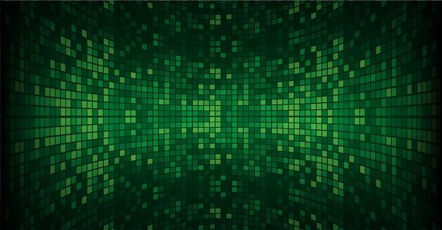 緑色に導かれた映画スクリーン Premiumベクター
