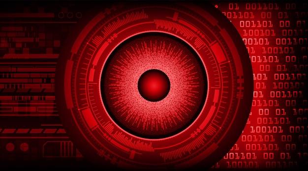 赤目サイバー回路未来技術 Premiumベクター