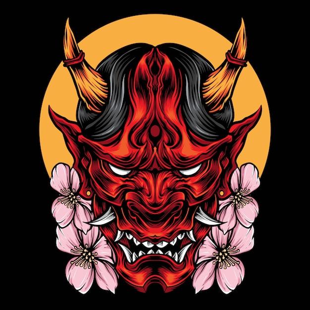 Японские арты демонов