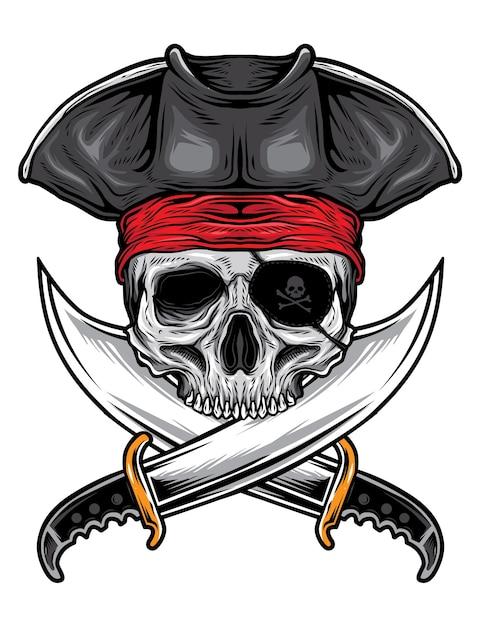 Картинка череп для пирата животное