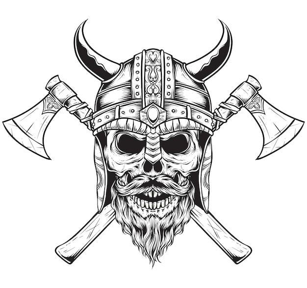 Рисунок на топор викинга трафарет
