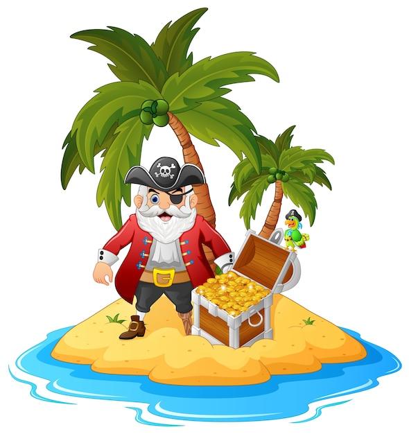 рисунок пираты на острове среднике изображен святитель