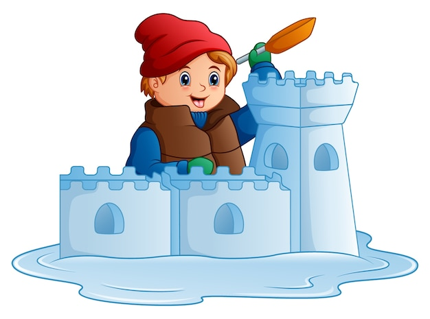 снежная крепость картинки рисунок вариант относится напрямую