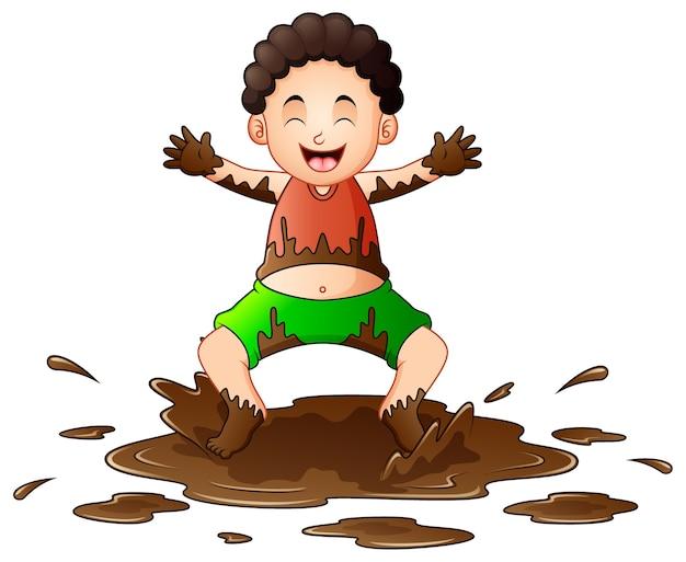 Мальчик грязнуля картинка для детей
