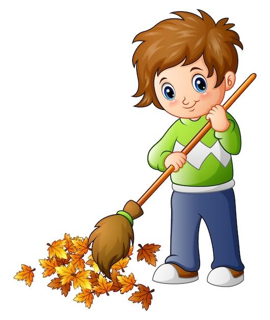 Детские рисунки уборка листьев