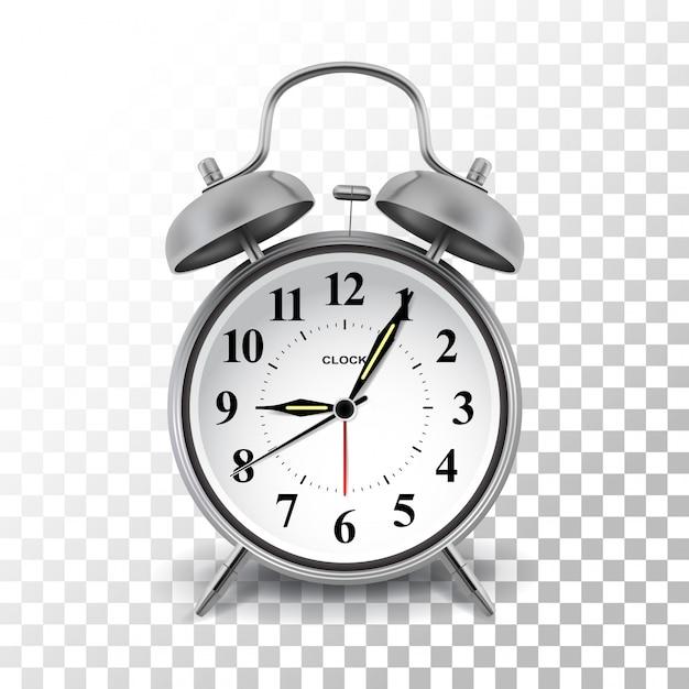 目覚まし時計 Premiumベクター