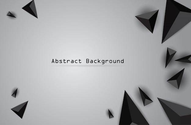 ベクトル色三角形と抽象的な幾何学的なバナー。 Premiumベクター