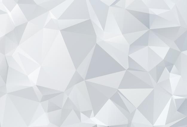三角低ポリ折り紙スタイルの背景 Premiumベクター