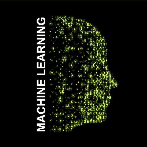 機械学習人工知能。 Premiumベクター