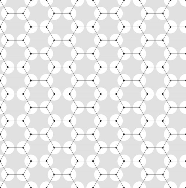 化学のシームレスパターン Premiumベクター