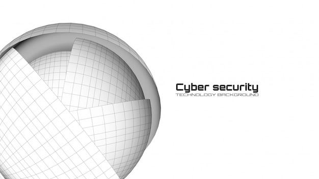 サイバーセキュリティと情報保護 Premiumベクター