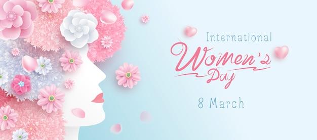 国際婦人デー Premiumベクター
