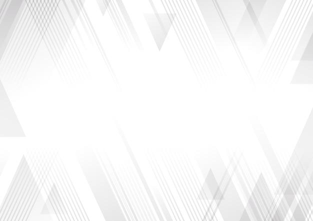 抽象的な白とグレーの背景 Premiumベクター