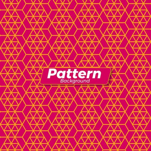 抽象的なレトロパターン背景 Premiumベクター