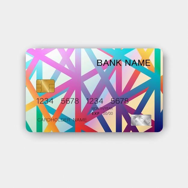 クレジットカード。 Premiumベクター