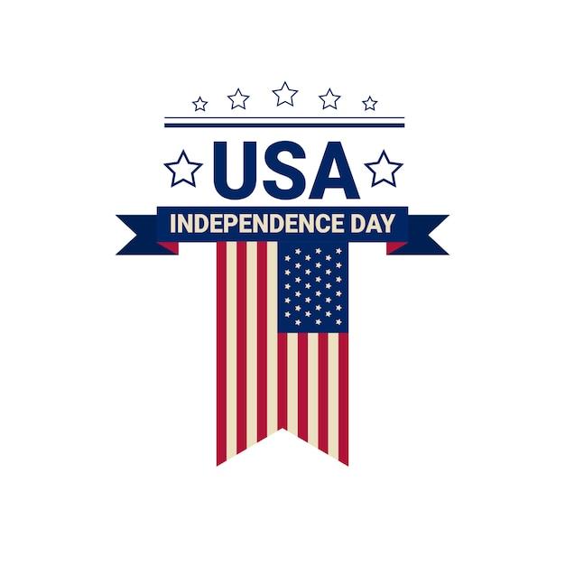 アメリカ合衆国国旗独立記念日 Premiumベクター