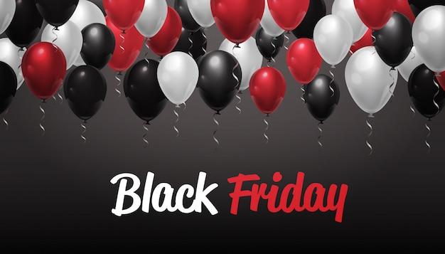 ブラックフライデーの特別セールバナー Premiumベクター