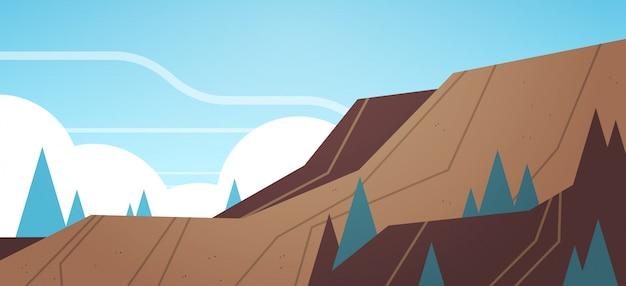 露天掘り鉱石採石場産業鉱山生産 Premiumベクター