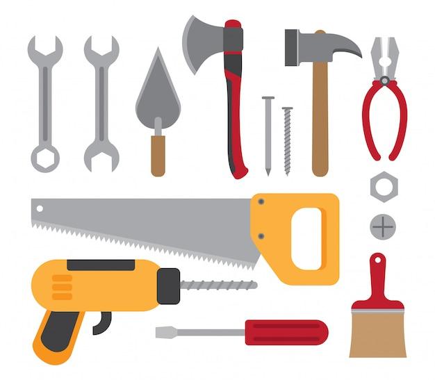 建設作業ツール集 Premiumベクター
