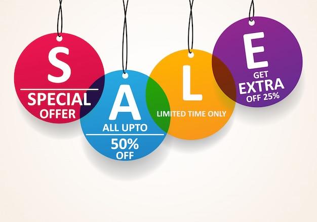 Скидки на продажу Premium векторы