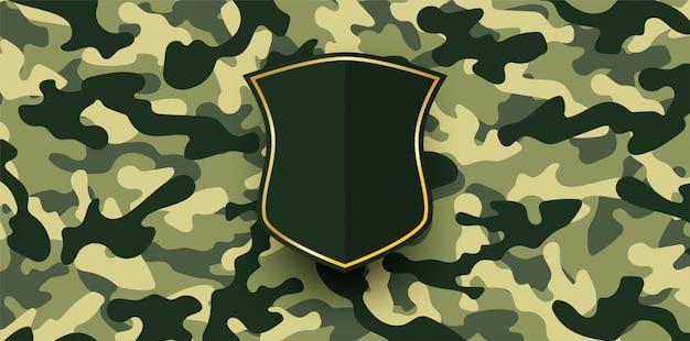 抽象。軍の迷彩の背景。 Premiumベクター