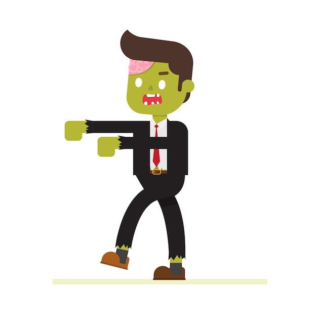 Зомби-офис Premium векторы
