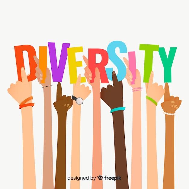 異文化や人種からの人々 無料ベクター