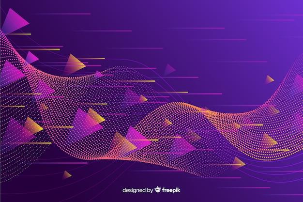 Абстрактный спортивный фон плоский дизайн Бесплатные векторы