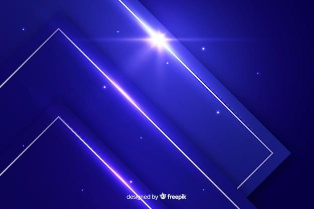 Футуристический синий металлик абстрактный фон Бесплатные векторы