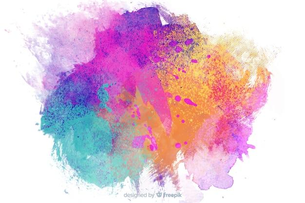 Детский стиль фона с абстрактной темой Бесплатные векторы
