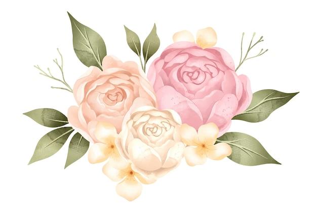 ヴィンテージの花の花束 無料ベクター