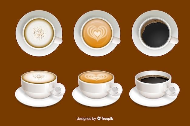 Кофейные чашки Бесплатные векторы