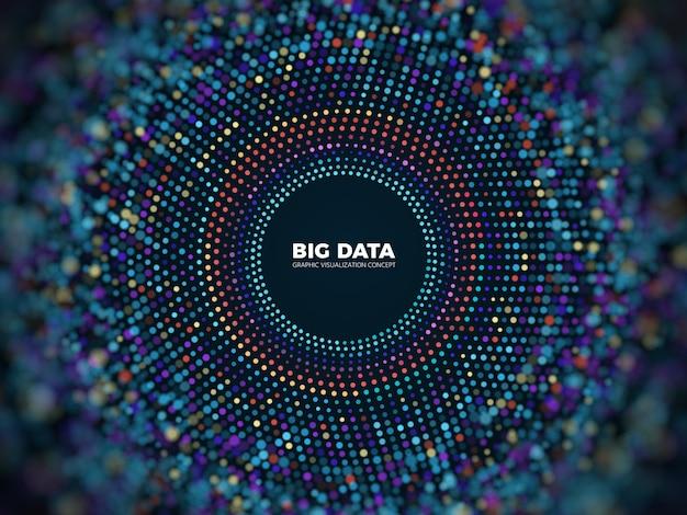 ビッグデータ情報の概念 Premiumベクター